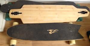 meine ersten streetkite boards