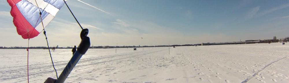 wunderschöner Tag auf dem Tempelhofer Freifeld mit Nasa Star und Snowdeck